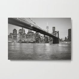 After Sunset in Brooklyn Metal Print
