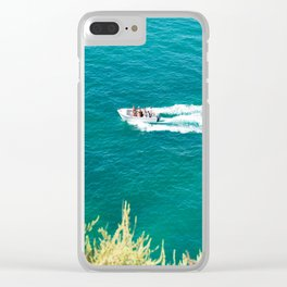 Boat Algarve Clear iPhone Case
