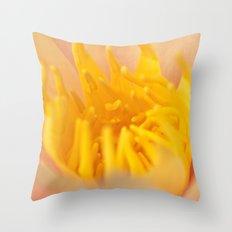 Golden Centre Throw Pillow