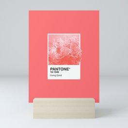 Pantone Series – Living Coral Mini Art Print