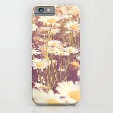 We need each other. Field of daisies photograph. iPhone 6s Slim Case