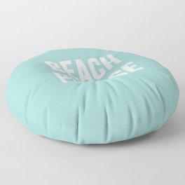 Beach Please Floor Pillow
