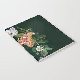 Atlas Moth Magnolia Notebook