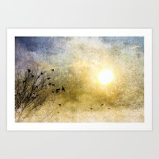 New Day Yesterday Art Print