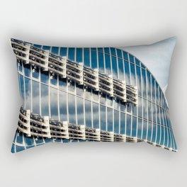 Office building Rectangular Pillow