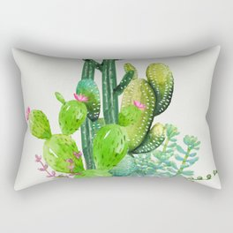 Cactus Garden II Rectangular Pillow