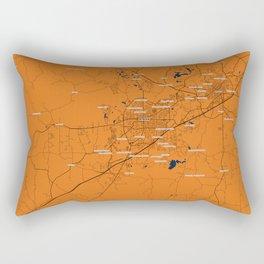 FanMap | NCAA Auburn #01 Rectangular Pillow