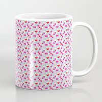 pixel art Mugs featuring Pixel by Colocolo Design | www.colocolodesign.de