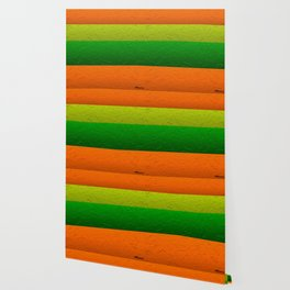 Orange Lime and Green Passion Wallpaper