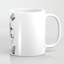 Ominous Victorian House Coffee Mug