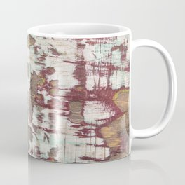 Abstract Weathered Grunge Paint Coffee Mug