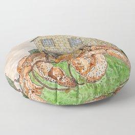 Hermit Apocalypse Floor Pillow
