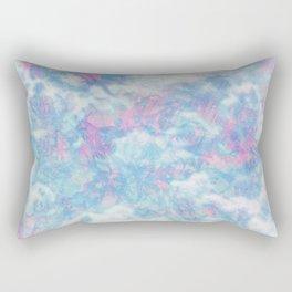 Blue Pink Attractions Rectangular Pillow