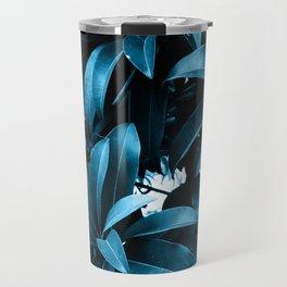 Exotic Blue Travel Mug