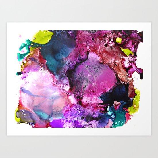 Color Splash Art Print