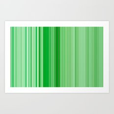 green friday Art Print