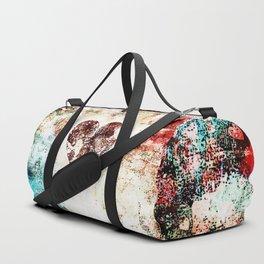 Vintage Heart Abstract Design Duffle Bag