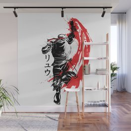 Traditional Fighter Wall Mural