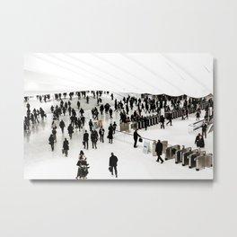 Walking. Metal Print