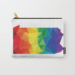 Geometric Pride Pennsylvania Carry-All Pouch