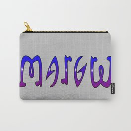 Margret (Ambigram) Namendreher Carry-All Pouch