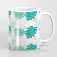 hawaiian Mugs featuring Hawaiian Holidaze by Pamela Hamilton Designs
