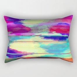 Glitch Rectangular Pillow