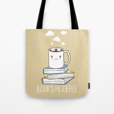 Books + Coffee Tote Bag