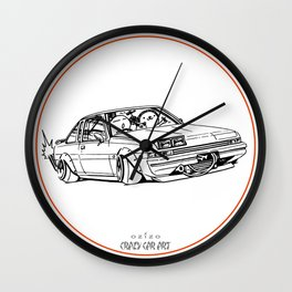 Crazy Car Art 0220 Wall Clock