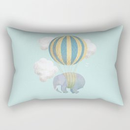 Escape From the Circus Rectangular Pillow