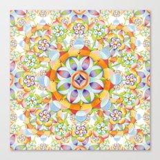 Beaux Arts Flower Crown Canvas Print
