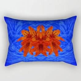 Flower head Rectangular Pillow