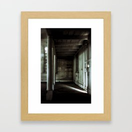 {sliver} Framed Art Print