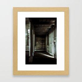 {sliver} Framed Art Print