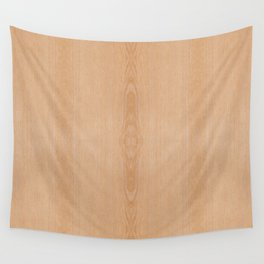 Elegant Light brown wood grain texture Wall Tapestry