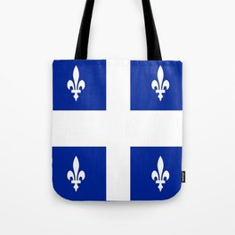 Flag of Quebec Tote Bag