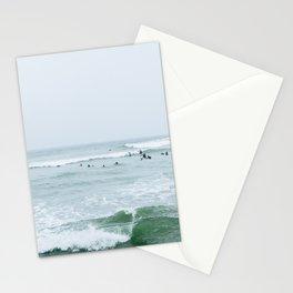 Tiny Surfers Lima, Peru 3 Stationery Cards