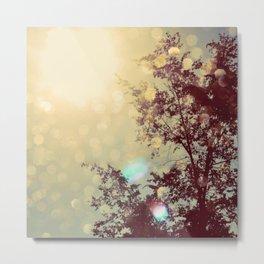 golden sky Metal Print