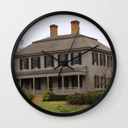 Grey Planks Wall Clock