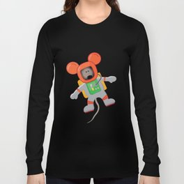 Space Mouse Long Sleeve T-shirt