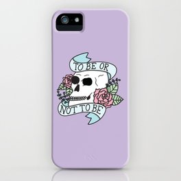 That is the Question iPhone Case