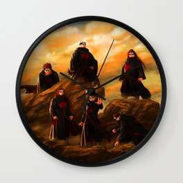 the pain Wall Clock