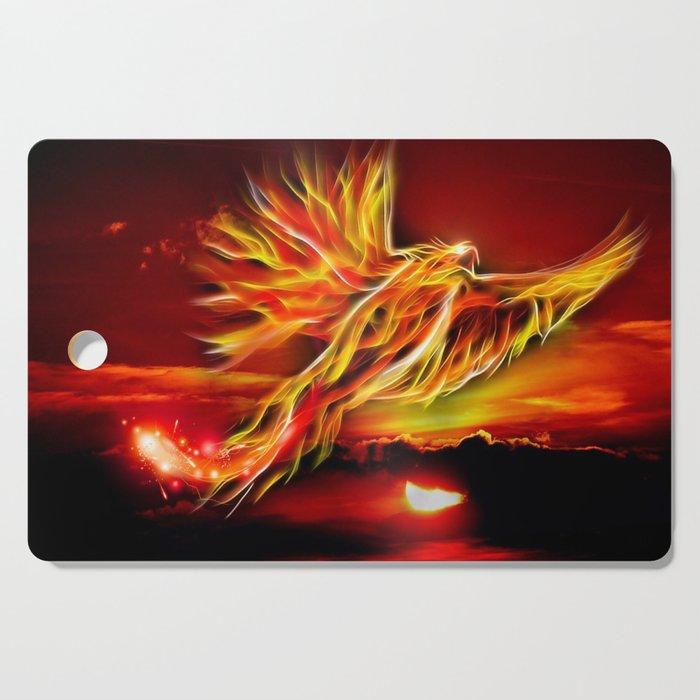 Phoenix Bird Fire Cutting Board