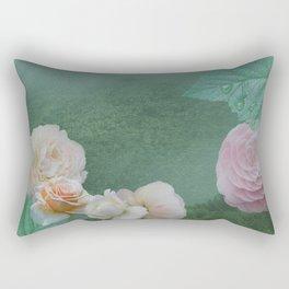 Misty Garden Rectangular Pillow