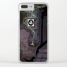 Ghost Host Clear iPhone Case
