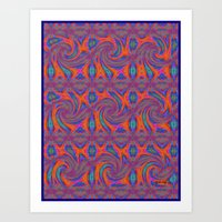 persian Art Prints featuring Persian by gretzky