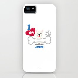 JINDO Cute Dog Gift Idea Funny Dogs iPhone Case