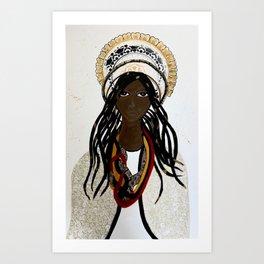 Calafia Art Print