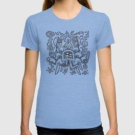 Evil Crabkillbot from Crab Nebula Against Humanity T-shirt