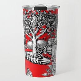 Collage rouge 5 Travel Mug